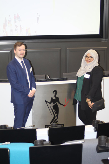 Chair of the ICAEW Students Council in London